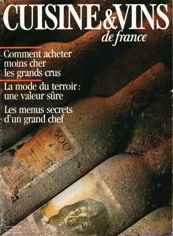 """""""Parmi les bonnes adresses, Couprie en grande Champagne un petit propriétaire sérieux"""". Cuisine & vins de France"""