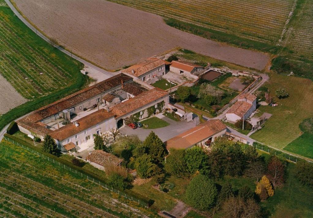 Vue aérienne Cognac Couprie